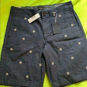 NWT J. Crew Indigo Shorts - 29 waist 9 inseam